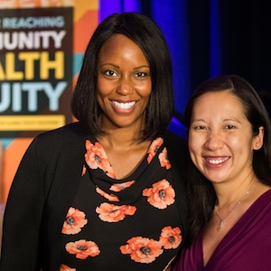 Dr. Maya Rockeymoore and Dr. Leana Wen